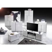 Kommode grifflos B 100cm Padua Light, Weiß - Weiß, Design, Holzwerkstoff (100/80/37cm) - Carryhome