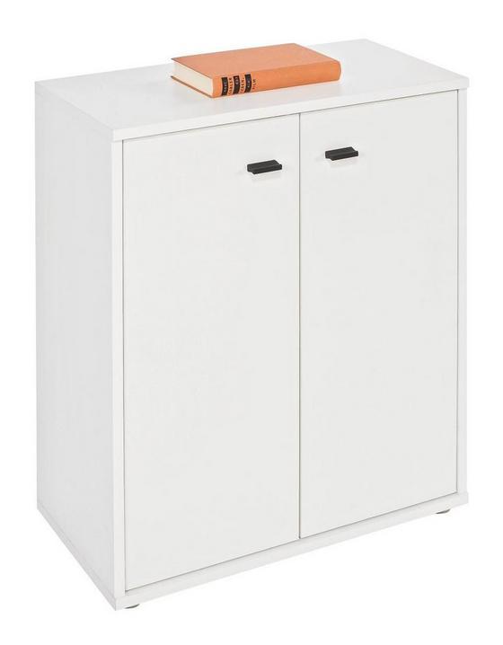 Komód Boni - fehér, modern, faanyagok (60/70/30cm)