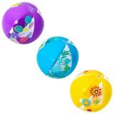 Wasserball Designer Beach Ball - Blau/Gelb, KONVENTIONELL, Kunststoff (34/34cm) - Bestway