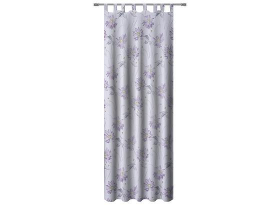 Kombivorhang Lia - Lila, KONVENTIONELL, Textil (140/255cm) - Ombra