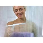Duschabzieher Cabino Shower Slider - Weiß, Basics, Glas/Kunststoff (24cm) - Leifheit