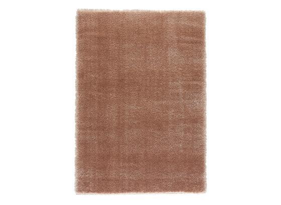 Hochflorteppich Biljavia - Hellrosa, MODERN, Textil (160/230cm) - Luca Bessoni