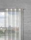 Záclona Provázková String - bílá/šedá, textil (90/245cm) - Premium Living