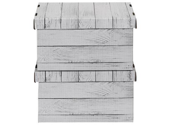Box S Víkem Jimmy -ext- - přírodní barvy, karton (34/18/25cm) - Mömax modern living