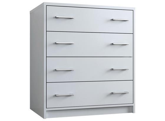 Komoda Zora - biela, Moderný, kompozitné drevo (75/85/50cm)