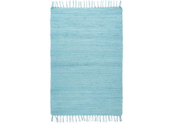 Hadrový Koberec Julia - světle modrá, Romantický / Rustikální, textil (60/90cm) - Mömax modern living