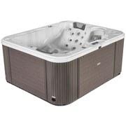 Whirlpool Keramik Asti 211x170x90 cm - Weiß, Design, Holz/Keramik (211/90/170cm)