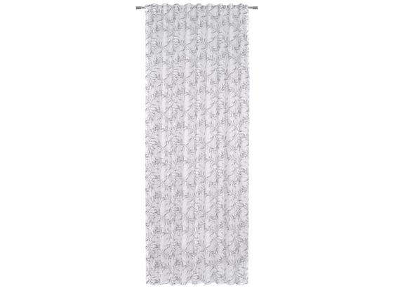 Záves Athena - sivá/biela, textil (140/245cm) - Mömax modern living