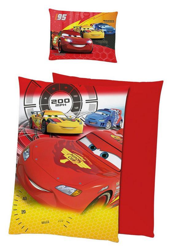 Bettwäsche Disney Cars - Multicolor, LIFESTYLE, Textil - Disney