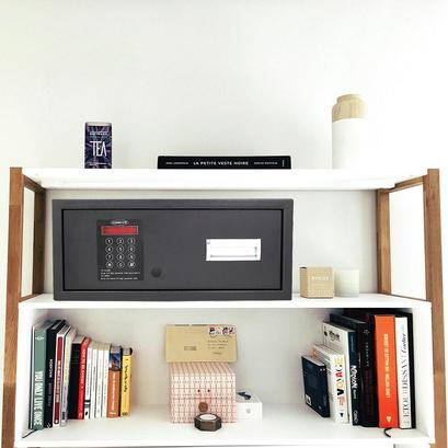 Tresor mit elektronischem Schloss