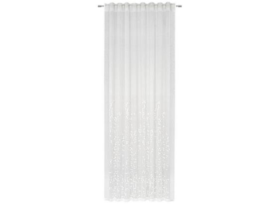 Hotový Závěs Livie - bílá, Basics, textil (135/245cm) - Premium Living
