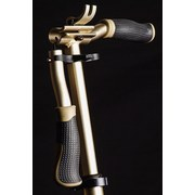Scooter Six Degrees B: 34,5 cm Gold - Goldfarben, Basics, Metall (93,5/34,5/100,5cm)