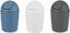 Tischabfalleimer Rattan - Grau, KONVENTIONELL, Kunststoff (1,2l) - Plast 1