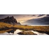 Dekopaneel Morningrise - Multicolor, Natur, Holzwerkstoff (117/49/1,9cm)