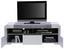 TV-Element Toronto - Hellgrau/Weiß, MODERN, Holzwerkstoff (140/53/45,2cm) - Ombra