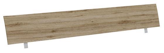 Kopfteil Belia, für Bett 160x200 cm - Eichefarben, KONVENTIONELL, Holz (167cm)