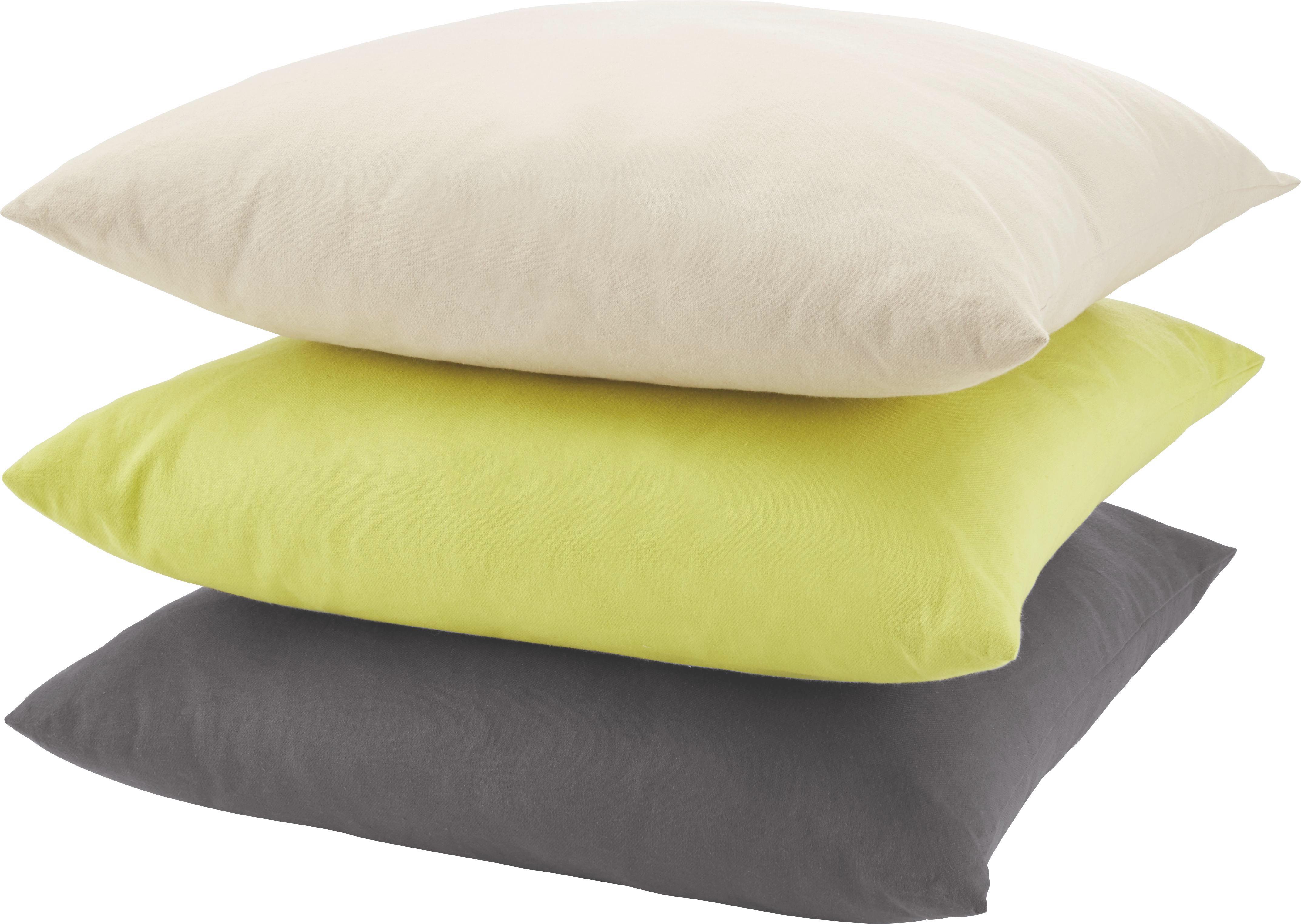 Polštář Ozdobný Zippmex  -based-top- - antracitová, textil (50/50cm) - BASED