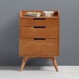 Komoda Jillian - farby brestu, Moderný, drevený materiál/drevo (48/70/35cm) - MÖMAX modern living