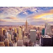Keilrahmenbild Big Apple - Multicolor, MODERN, Holz (120/90cm)