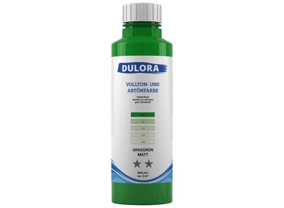 Abtönfarbe 500ml Grasgrün Matt - Grün, Kunststoff (0,500l) - Dulora