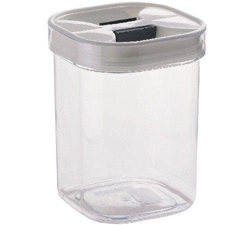 Tárolódoboz Szögletes - tiszta/fehér, konvencionális, műanyag (13.2/17.6/13.2cm)