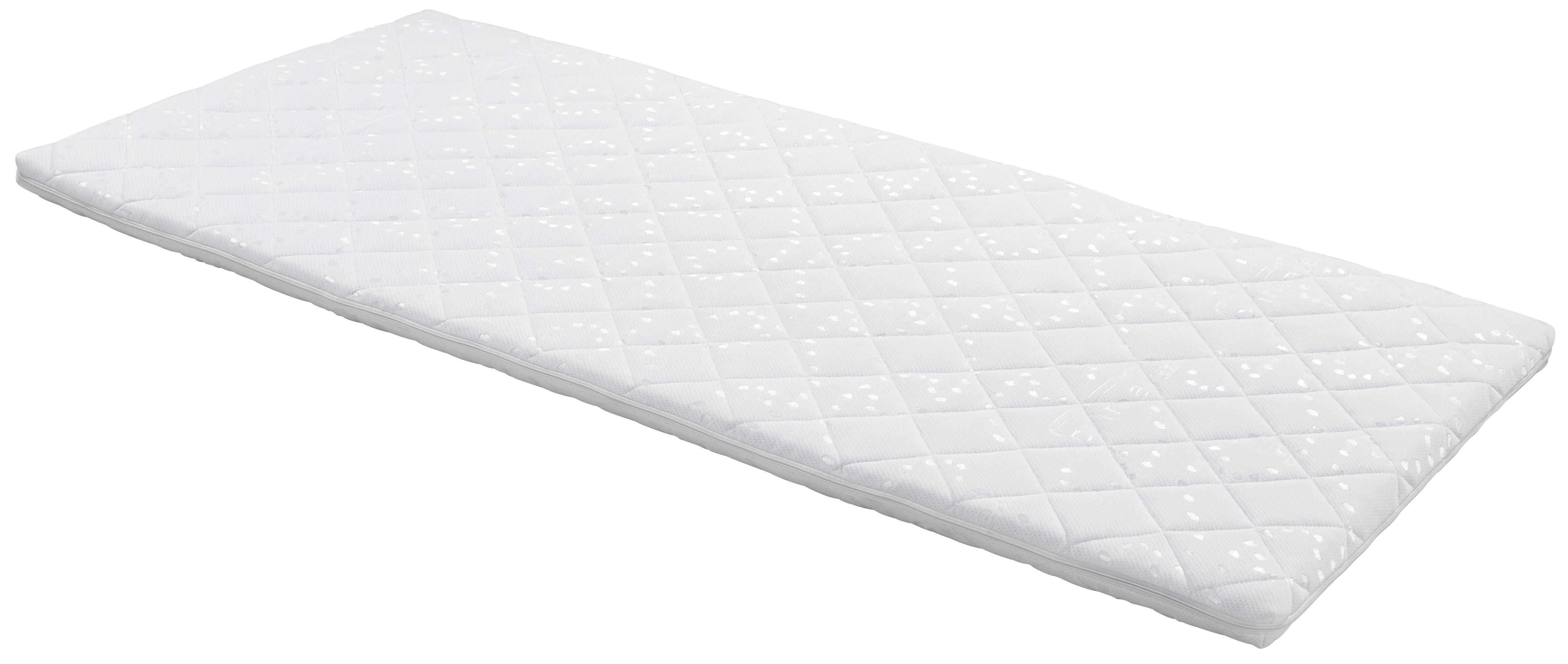 Topper Delta, 160x200cm - bílá, textil (160/200cm)