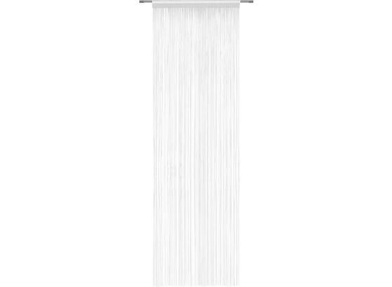 Provázková Záclona Victoria -top- - bílá, textil (90/245cm) - Mömax modern living