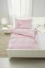 Povlečení Diary Butterfly -ext- - bílá/starorůžová, Romantický / Rustikální, textil (140/200cm) - Zandiara