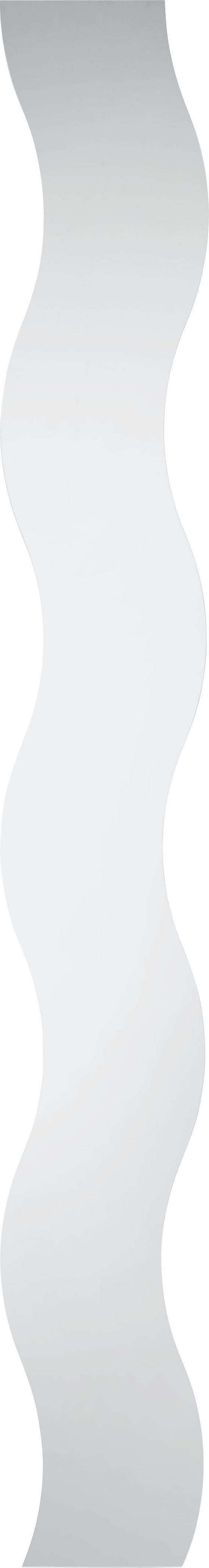 Zrkadlo Head Welle - farby striebra, Konvenčný (15/150cm)