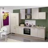 Küchenblock Nepal B: 310 cm Kaschmir - Kaschmir/Weiß, MODERN, Holzwerkstoff (310cm) - MID.YOU