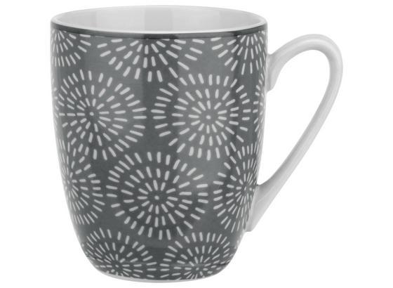 Hrnček Na Kávu Nina Z Porcelánu Cca. 340 Ml - sivá, keramika (8,5/10cm) - Mömax modern living