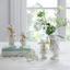 Zajíc Dekorační Hase I - bílá, Basics, keramika (8,6/5/11,6cm)