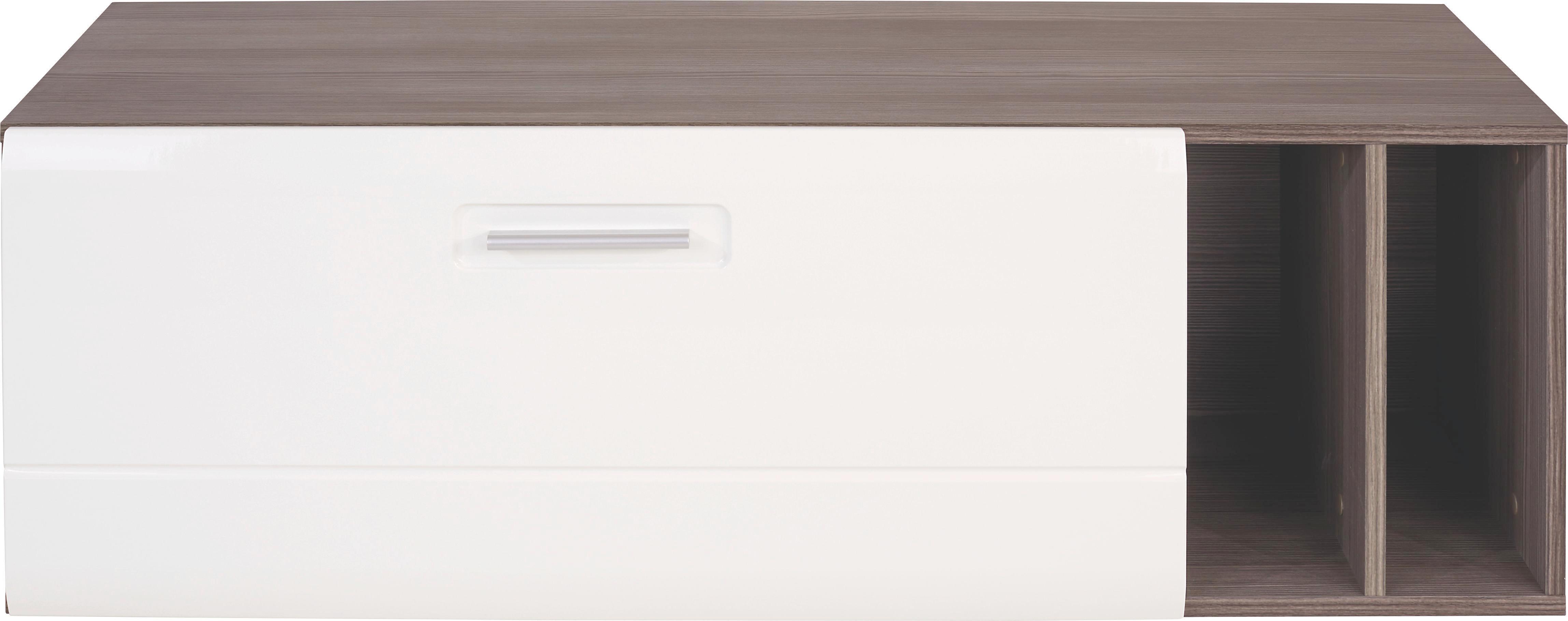 Függesztett Elem Avensis - bronz szín/fehér, modern, fa (120/39/37cm) - LUCA BESSONI