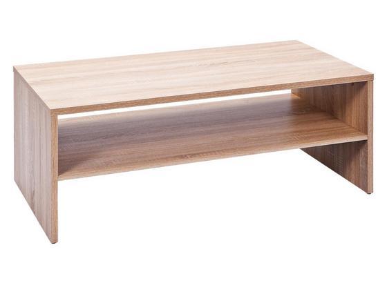 Couchtisch Absoluto B: 115cm Sonoma Eiche - Sonoma Eiche, Basics, Holzwerkstoff (115/42/60cm) - Livetastic