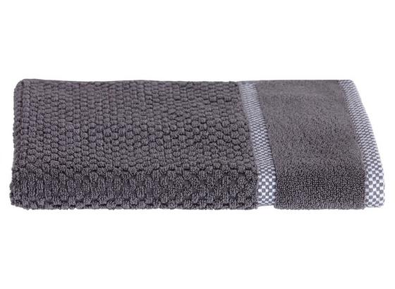 Handtuch Rocky - Grau, ROMANTIK / LANDHAUS, Textil (50/100cm) - James Wood