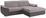 Wohnlandschaft L-form Verona 265x180cm - Chromfarben/Silberfarben, LIFESTYLE, Holz/Kunststoff (265/180cm) - Ombra