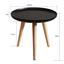 Príručný Stolík Dilara - čierna/farby pínie, Moderný, drevo (40/40cm) - Modern Living