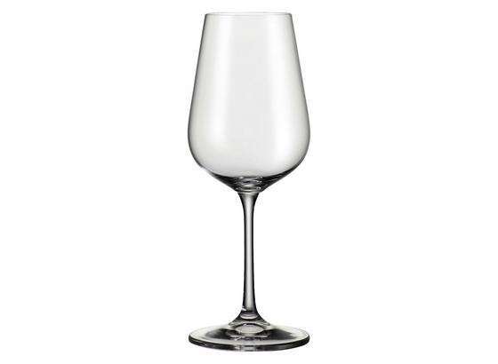 Pohár Na Biele Víno Norma - číra, Moderný, sklo (0,36l) - Bohemia