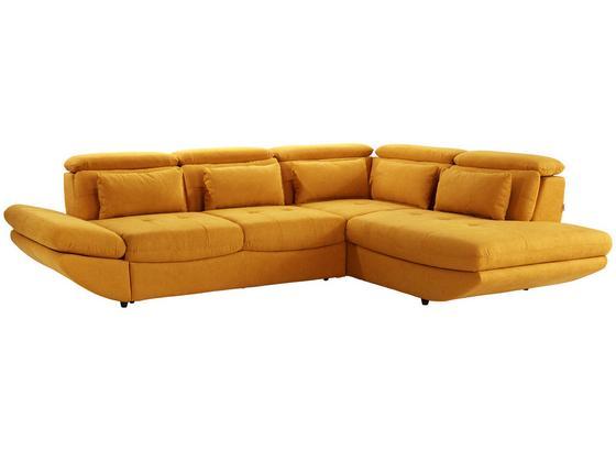 Sedací Souprava Park - curry žlutá, Moderní, textil (311/233cm) - Luca Bessoni