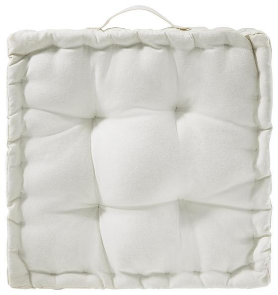 Polštář Bill - bílá, textilie (40/40/9cm) - Mömax modern living