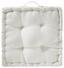 Sedák Na Stoličku Bill - biela, textil (40/40/9cm) - Mömax modern living