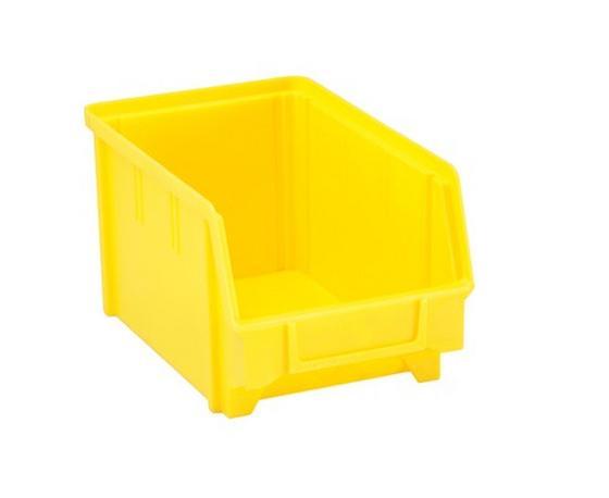 Sichtbox Hubert - Gelb, KONVENTIONELL, Kunststoff (14.5/12.5cm)