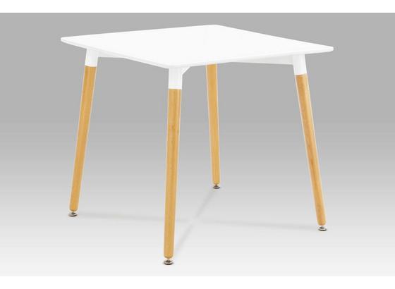 Jedálenský Stôl Urban - biela, Konvenčný, drevo (80/75,5/80cm)
