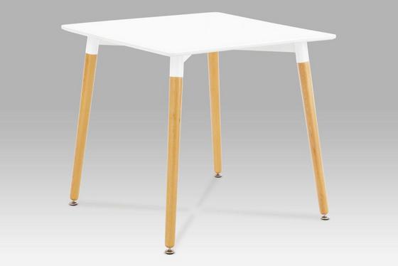 Jídelní Stůl Urban - bílá, Konvenční, dřevo (80/75,5/80cm)