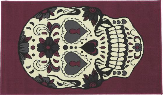 Szőnyeg Samir - lila, konvencionális, textil (100/160cm)