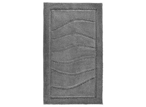 Badematte Lasse - Graphitfarben, ROMANTIK / LANDHAUS, Textil (60/100cm) - James Wood