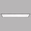 LED-Deckenleuchte Salobrena 2 - Weiß/Grau, MODERN, Kunststoff/Metall (120/30/1,1cm)