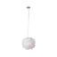 Závesná Lampa Larissa - biela, Romantický / Vidiecky, kov (30/110cm) - Modern Living