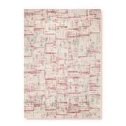 Webteppich Creme/Terracotta Ragnar 120x170 cm - Terra cotta/Creme, Basics, Textil (120/170cm) - Ombra