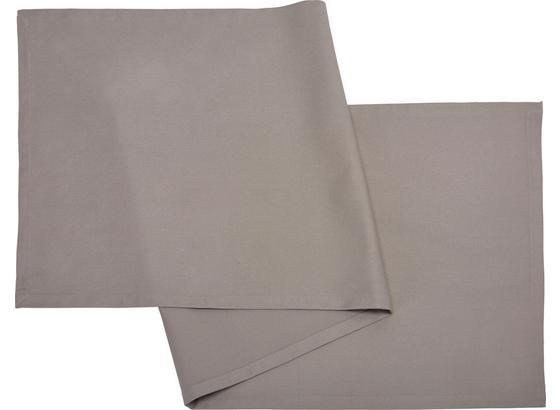 Obrus Behúň Steffi -top- - svetlosivá, textil (45/150cm) - Mömax modern living